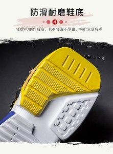 Image 5 - 2019 גברים של נעלי ספורט עם בד תפרים אופנתי חיצוני גברים של מאמני מוגבר פנימי נעלי גבר עם אוויר רשת בתוספת גודל