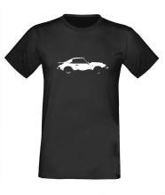 964 targa shadow cast design 911 T-shirt premium t shirt tshirt car men