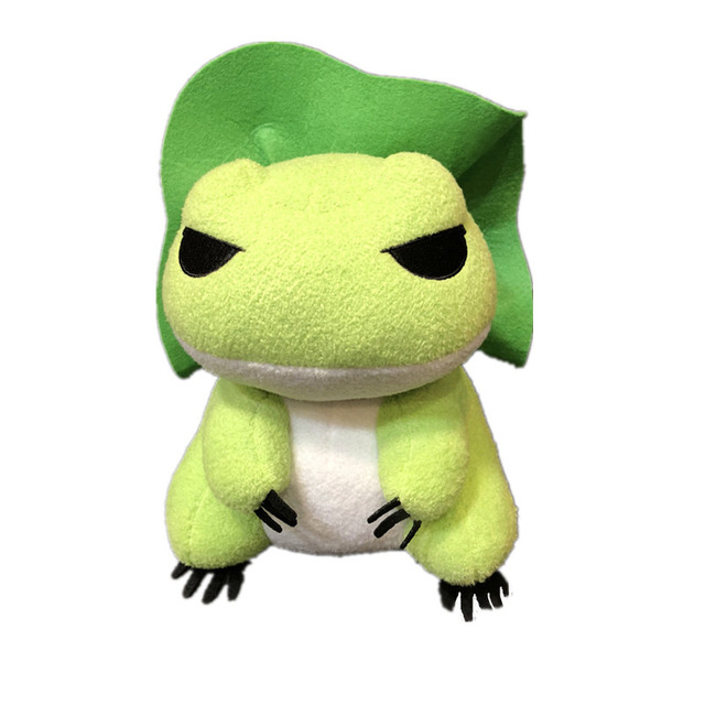 20cm Cute Travel Frog Anime Plush Toy Doll Hat Frogs Baby Pillow Soft Stuffed Animals dolls For Kids Birthday Gift Toys For Boys