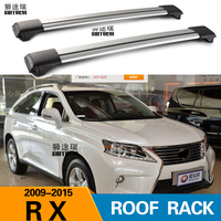 SHITURUI 2Pcs Roof Bars for LEXUS RX-Series 270 350 5-dr SUV2008-2016   Aluminum Alloy Side Bars Cross Rails Roof Rack Luggage
