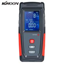 KKMOON Handheld High Precision Digital LCD Electromagnetic Field Radiation Detector Meter Dosimeter Mini EMF Tester Counter
