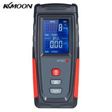 KKMOON כף יד גבוהה דיוק דיגיטלי LCD אלקטרומגנטית שדה קרינת גלאי מד Dosimeter מיני EMF Tester דלפק