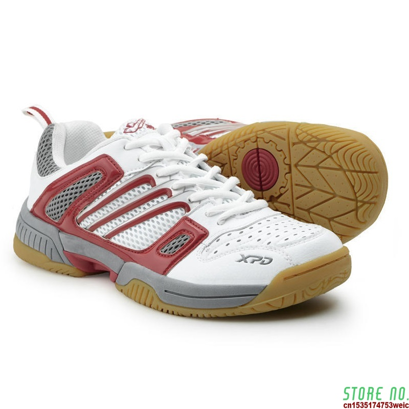 Sneakers Men Indoor Non-slip Badminton Shoes Women Flat Breathable Sports Shoes 36-45