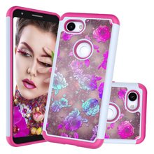 Heavy Duty Shockproof Butterfly Flower Soft TPU Case For Google Pixel 3 XL Silicon Back 3a