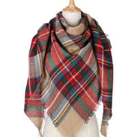 2020 Winter Scarf For Women Support Wholesale and Retail Cashmere Scarf And Shawl Women's Triangle Blanket Scarf Warm Shawl
