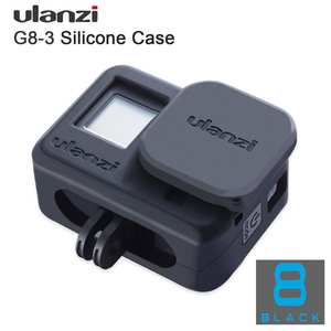Ulanzi Soft-Protective-Case Camera-Lens-Cap Droproof Hero 8 Silicone Vlog G8-3 with