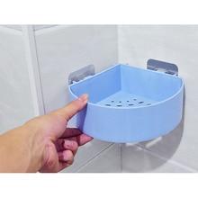 Bathroom Storage Rack Triangular Basket Bathroom Shower Corner Shelf Soap Saver Kitchen Organizer Wall Mounted Shampoo Holder