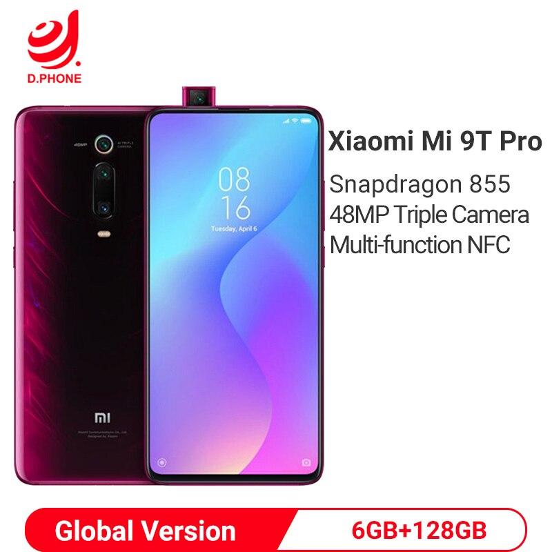 Global Version Xiaomi Mi 9T Pro (Redmi K20 Pro) 6GB 128GB Snapdragon 855 NFC Smartphone 48MP Triple Rear Camera 4000mah Phone