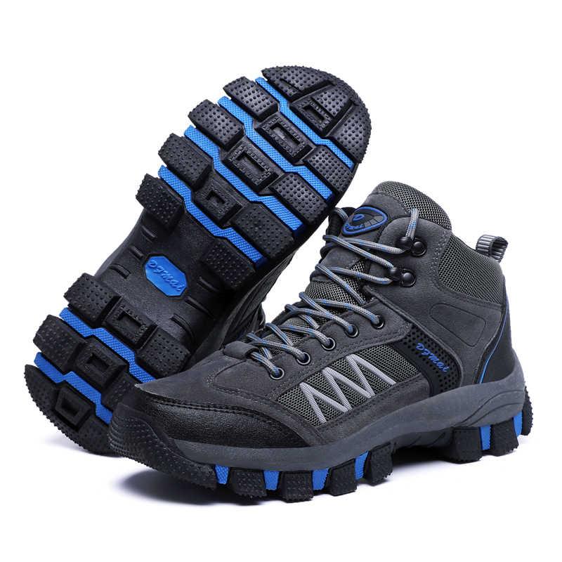 2019 kış erkek botları ayak bileği kar botları sıcak kürk ile hafif rahat rahat su geçirmez ayakkabı iş güvenliği ayakkabıları