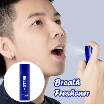 Breath Freshener Oral Spray Bad Odor Halitosis Remove Treatment Clean Mouth Spray To Remove All Odors Easy To Use Natural Ingred image