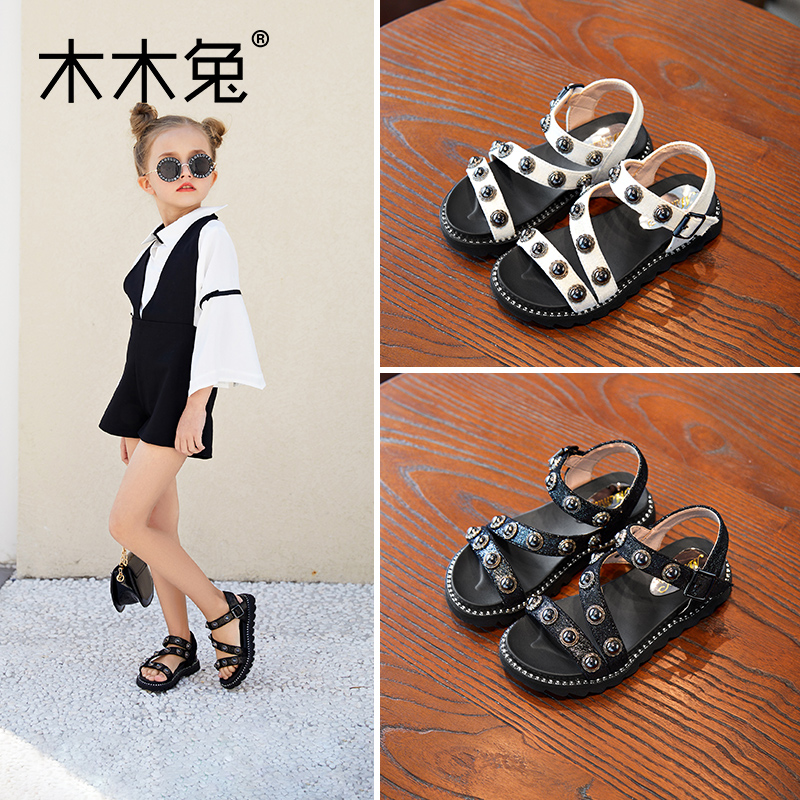 MOMIT Kids Shoes For Girls And Boys  2020 Summer Version Of The New Elegant Korean Princess Kids Shoes Especially For Students