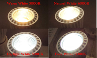 Alto CRI RA95 E27 7W pannocchia ha condotto la lampada della lampadina ha condotto il faretto Downlight AC85V-265V bianco puro neutro caldo di luce del giorno per la cucina della stanza