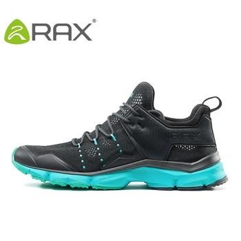 Men Breathable Mesh Hiking Shoes Women Lightweight Trekking Mountain Shoes Unisex Lace Up Anti-slip Sneaker AA52305