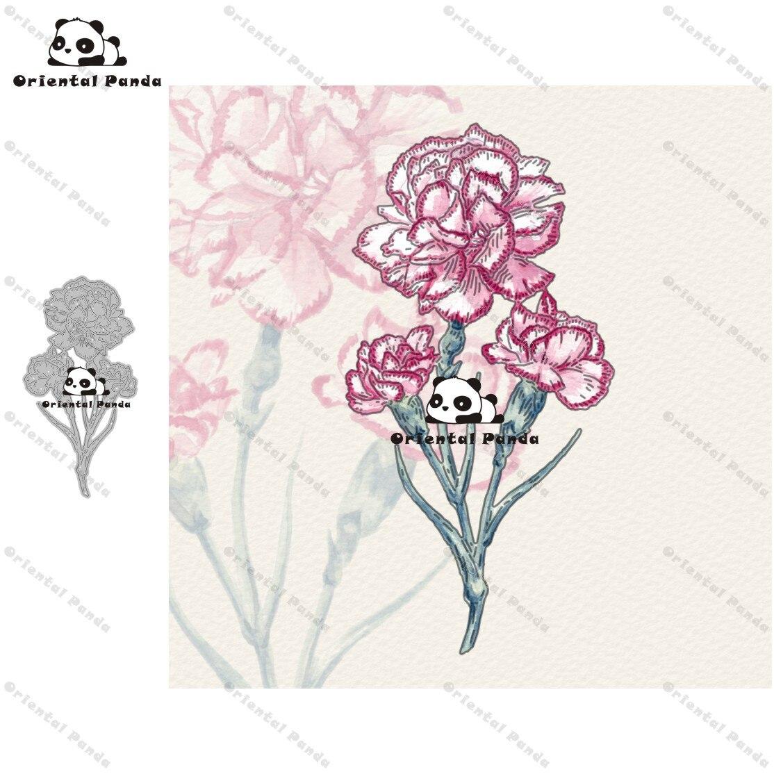 New Dies 2020 Carnation Metal Cutting Dies Diy Dies Photo Album  Cutting Dies Scrapbooking Stencil Die Cuts Card Making