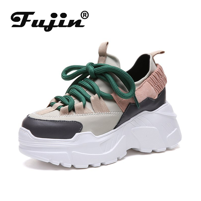 Fujin Spring Autumn Women Casual Shoes Dropshipping Comfortable Platform Shoes Woman Sneakers Ladies Trainers Chaussure Femme