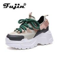 Fujin printemps automne femmes chaussures décontractées livraison directe confortable plate-forme chaussures Femme baskets dames formateurs Chaussure Femme