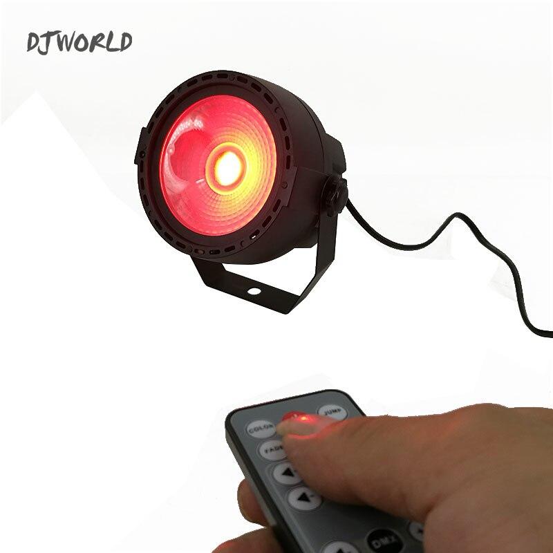 Djworld свет новый дизайн светодиодные прожектора COB 30 Вт RGB DMX512 сценический эффект Освещение использование для DJ Дискотека День рождения Сваде