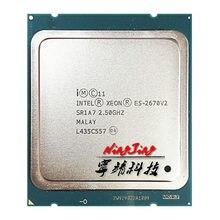 Intel Xeon E5-2670v2 E5 2670v2 E5 2670 v2 2,5 GHz 10-Core 20-Hilo de procesador de CPU 25M 115W LGA 2011