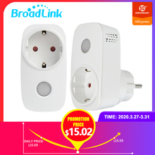 Broadlink Smart Socket Smart Home WiFi  EU Plug Outlet work with ALexa Google Home APP Remote Control Wireless Remote Controller