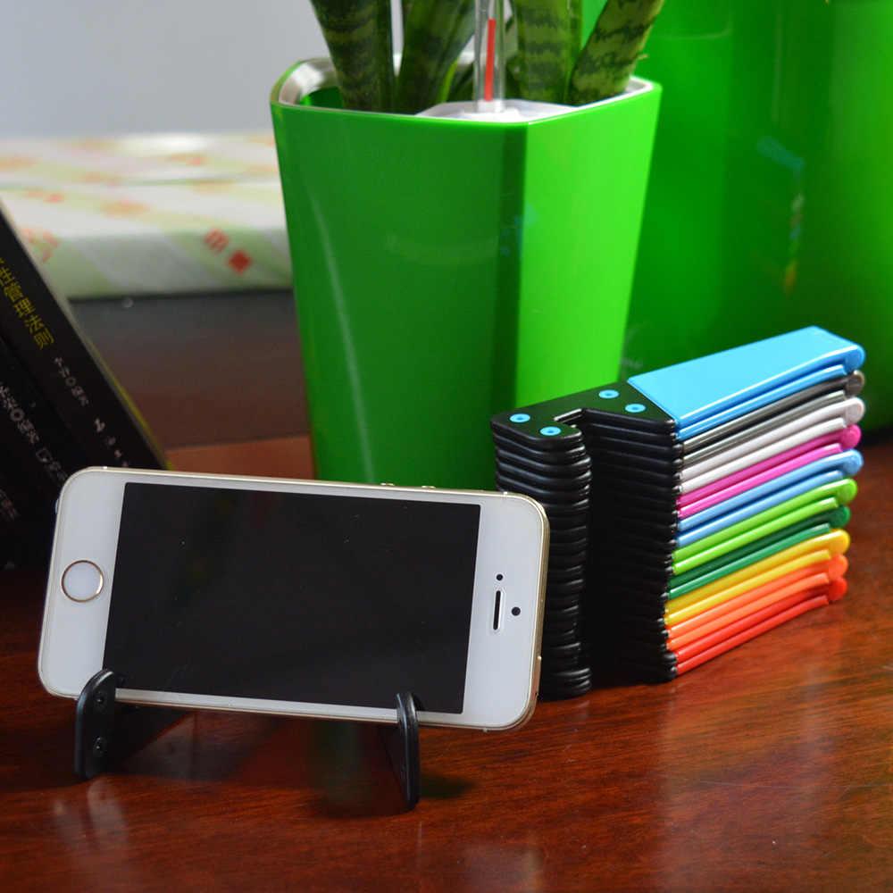 유니버설 전화 스탠드 홀더 아이폰에 대 한 스마트 폰 abs에 대 한 미니 접는 브래킷 패드 각도에 대 한 화 웨이에 대 한 삼성 전자에 대 한 자유롭게