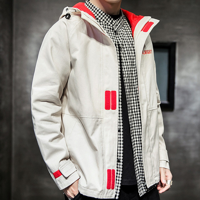 KANCOOLD New Men s jacket men women harajuku windbreaker jackets hooded hip-hop streetwear night shiny zipper coats jacke 86