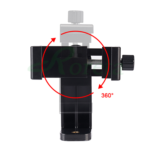 Roreta Tripod Mount Adapter Rotatable Stand Mount Adapter For iPhone xiaomi Samsung smart phone Tripod Stand 5