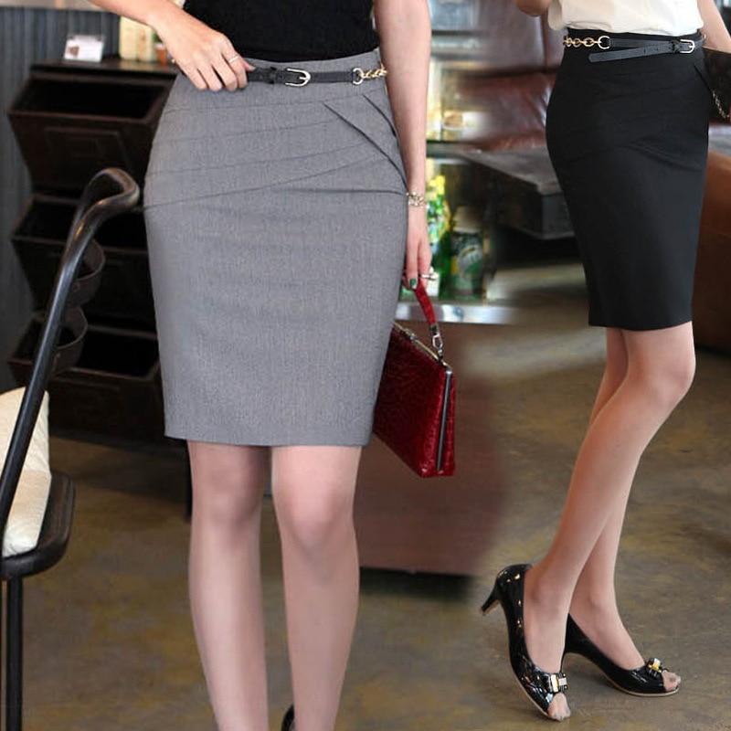 Women's Elegant Short Suit Skirts Office Work Formal Ladies Clothing Fashion Spring Summer Slim Female Wild Pencil Skirt