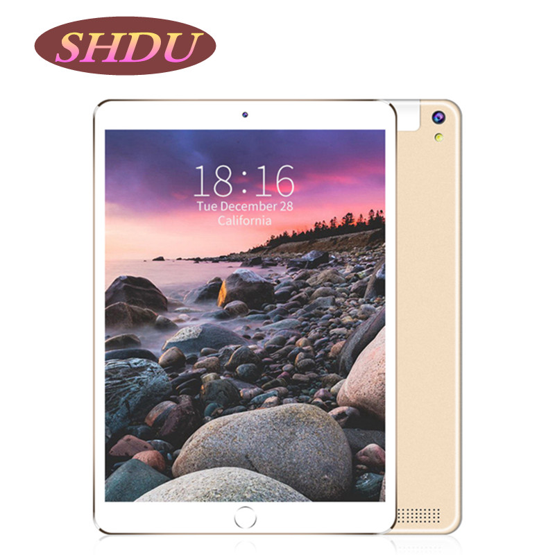 10.1 Inch Tablet PC Android 7.0 OS Quad Core Tablets 2GB RAM 32GB ROM Wifi GPS Tablet With Free Gifts