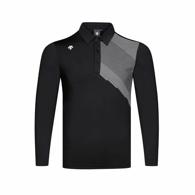 Swirling Golf Wear Breathable Long Sleeve Golf T-shirt 4 Color Shirt S-XXL In Choice Golf Clothing Free Shipping