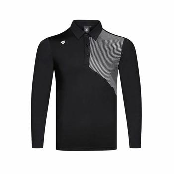 Wirujące torba na sprzęt do golfa oddychająca z długim rękawem T-shirt do golfa 4 kolor koszula S-XXL w wyborze odzież golfowa darmowa wysyłka tanie i dobre opinie Poliester spandex Pełna Anty-pilling Przeciwzmarszczkowy Oddychające Szybkie suche Koszule Pasuje prawda na wymiar weź swój normalny rozmiar
