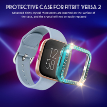 Protective Case Scratchproof Screen Protector Crystal Rhinestone Bumper PC Protective Cover Smart Wearable Accessories cheap Rondaful CN(Origin) Cases english Adult All Compatible Push Message Replacement Protection Case Anti-Scratch Screen Protector