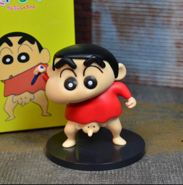 Free Shipping 1pcs 13cm Naughty Crayon Shin Chan Elephant Nose Doll Japanese Anime Shin-chan Action Figure For Best Gift