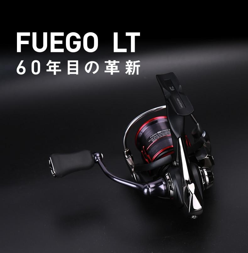 Daiwa 2018 Original Fuego LT 1000D 2000D 2500 3000-C 4000D-C 5000D-C 6000D-H Spinning Reel Carbon Light Material Housing - LT