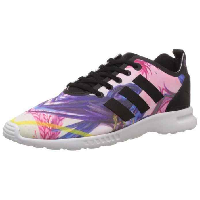 ADIDAS Zx Flux Smooth W Women's Sports Shoes Multicolor S82937