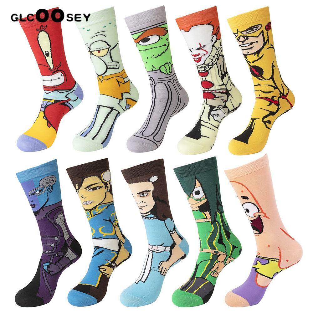 Cute Unicorn Casual Socks Cotton Crew Socks Crazy Socks For Sports And Travels