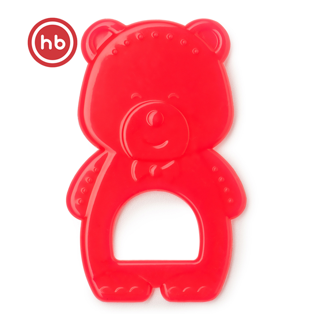 Baby Teethers Happy Baby 20026 Red Ruby teething toy gum massager teether rodents silicone baby teethers happy baby 20028 multi teething toy gum massager teether rodents silicone