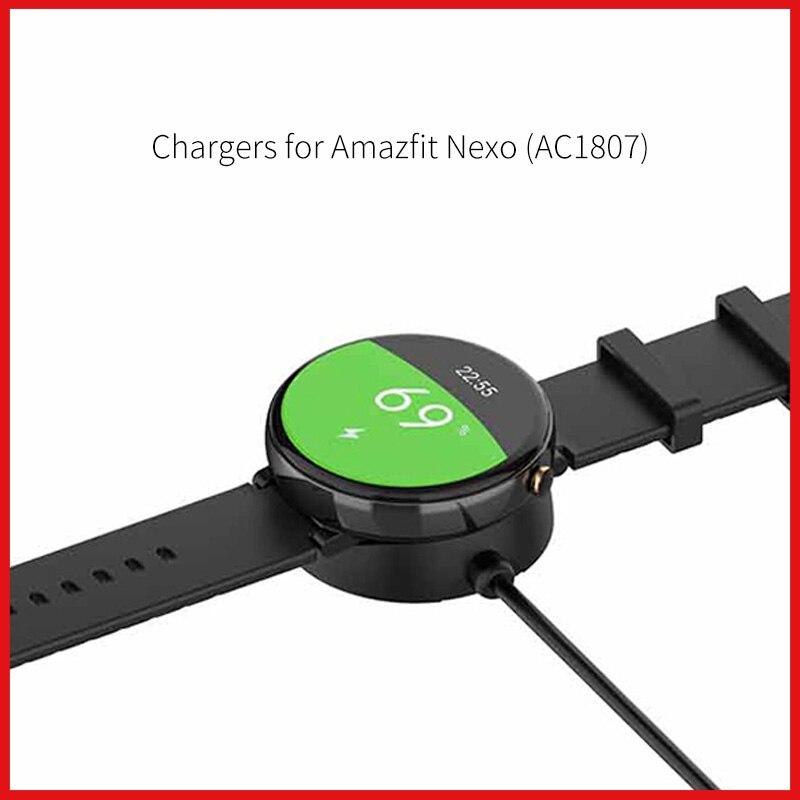 Зарядные устройства для умных часов для Amazfit Nexo huami AC1807 аксессуары MOSHOU