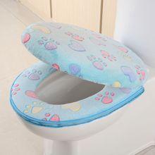 Cushion Toilet-Mat Bathroom-Products Kawaii Warmer Home-Decoration Waterproof Cat