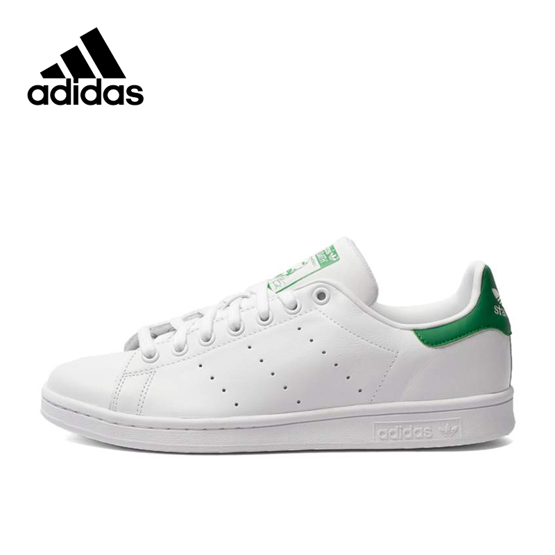 Original Authentic Adidas Men's Stan Smith Skateboarding Shoes Sneakers Comfortable Breathable Sport Footwear Designer Athletic