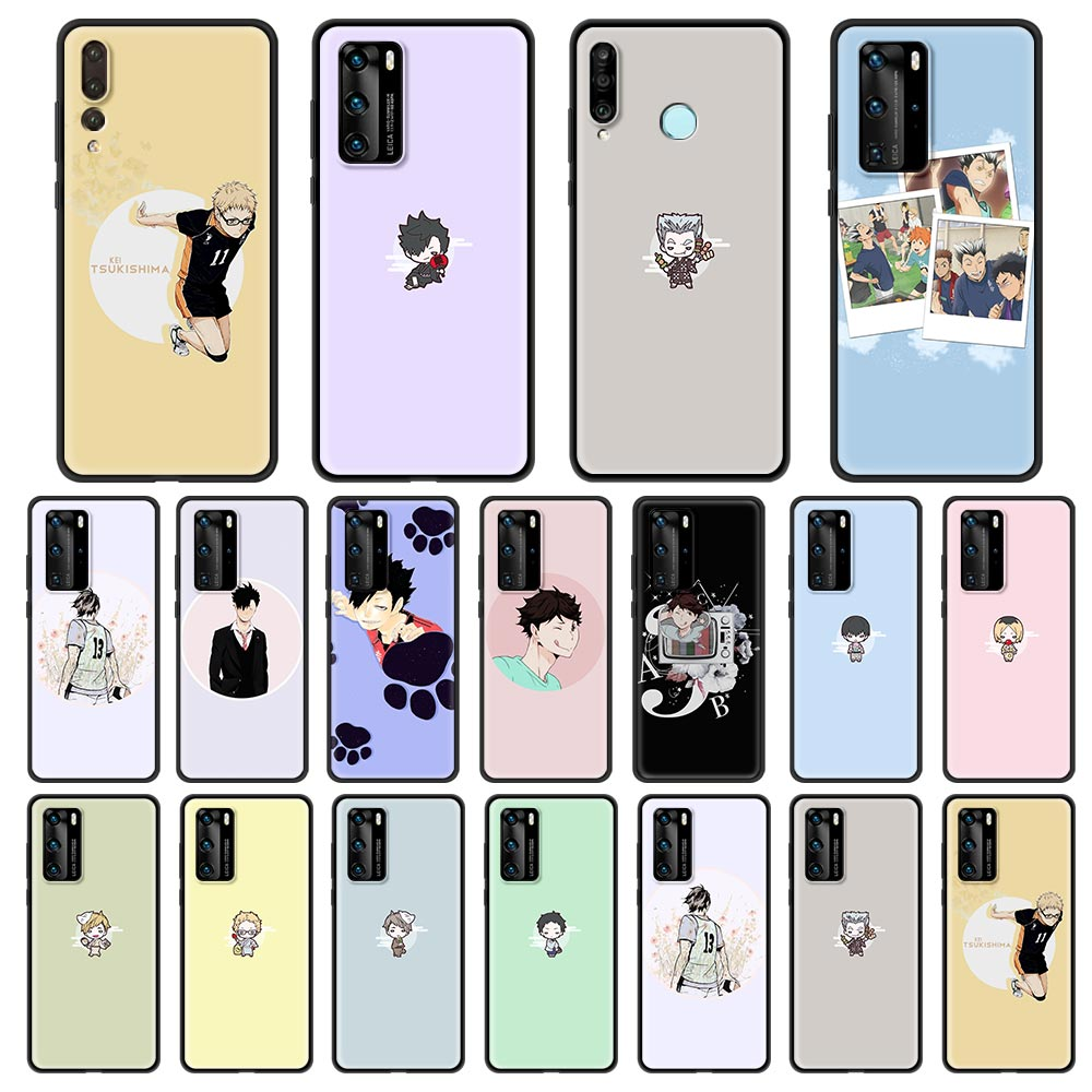 Haikyuu Love Volleyball Phone Case For Huawei P30 Lite P40 P20 Pro ...