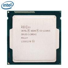 Intel Xeon E3-1230 V3 3.3GHz Quad-Core CPU Processor 8M E3 1230 V3 80W LGA 1150 E3-1230-V3 tested 100% working