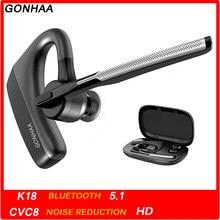 Fones de ouvido bluetooth sem fio fone de ouvido hd com cvc8.0 dupla função redução ruído microfone adequado para telefone inteligente
