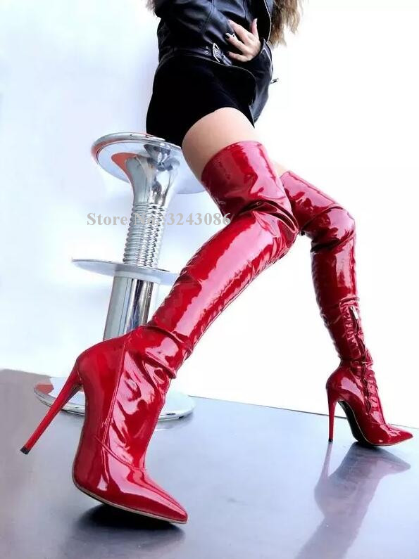 Boot red sexy