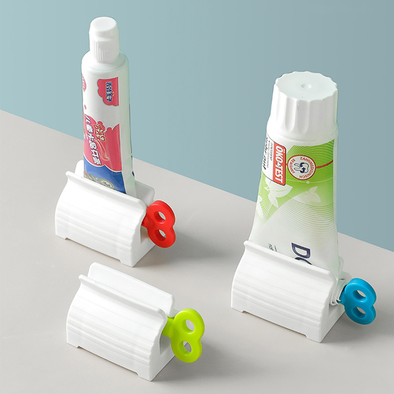 Wonderlife Bathroom Accessories Set Rolling Toothpaste Squeezer Tube Toothpaste Tooth Paste Squeezer Dispenser Toothpaste Holder