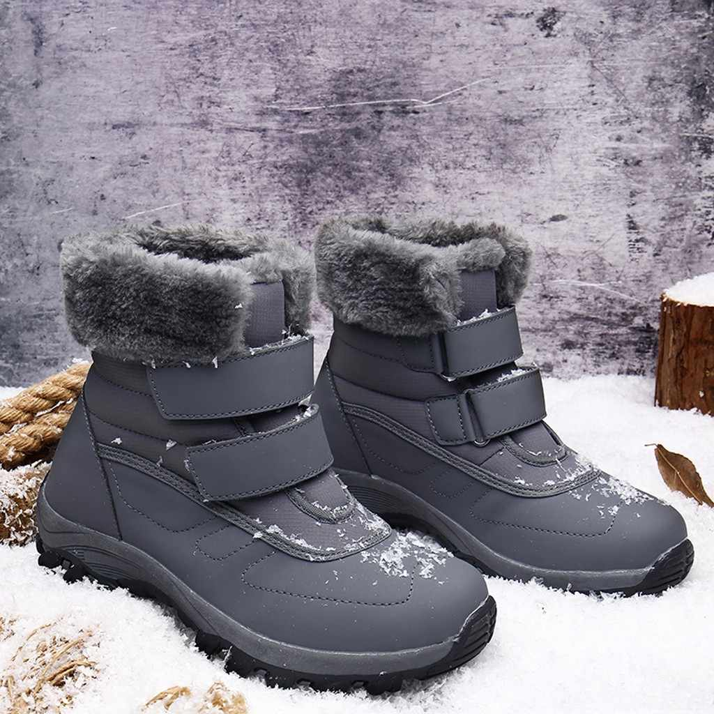 2019 New Women Boot Winter Boots Lace Up Warm Snow Boots High Quality Women Ankle Boots Women Shoes Fashion Snow Shoes #930