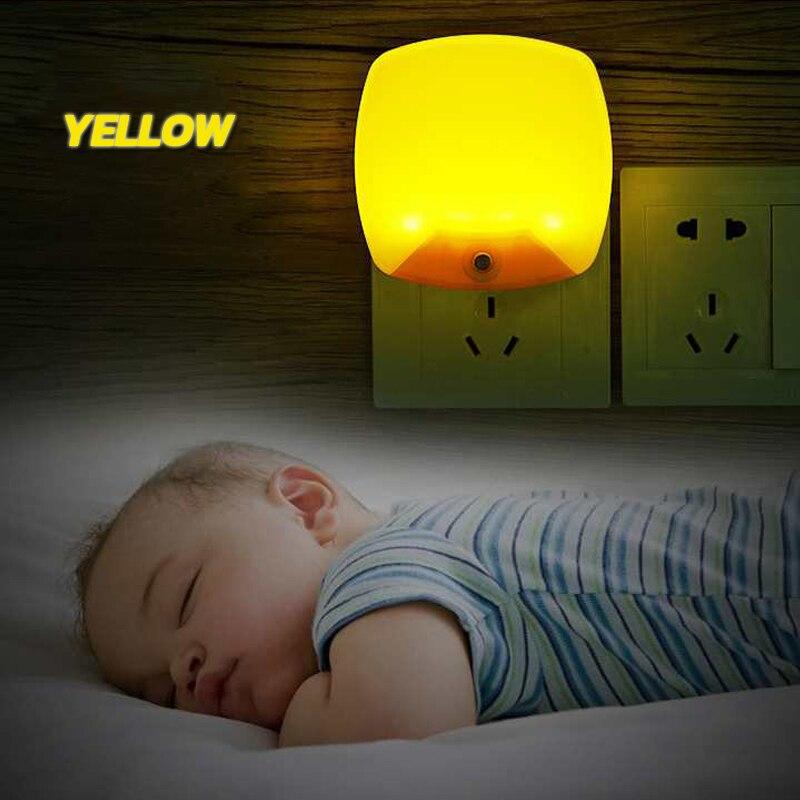 Image 5 - الجدار مصباح التيار المتناوب 220 فولت 110 فولت ليلة ضوء تحسس الاستشعار وحدة إضاءة led جداريّة مصباح ضوء الطوارئ الممر نوم المنزلمصابيح ليلية   -