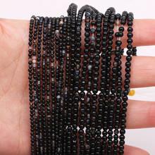 2 4 мм черные полосатые Агаты свободные бусины из натурального