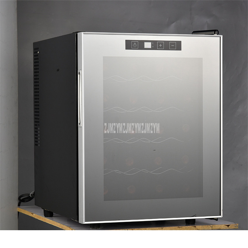 5 Layer 49L Electric Red Wine Cabinet Constant Temperature Stainless Steel Commercial Ice Bar Mini Wine Refrigerator TL-49