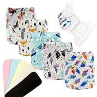 MABOJ Tuch Windel Mehrweg Wasserdichte Digital Gedruckt Baby Tuch Windel Eine Größe Tasche Baby Windeln Großhandel Fit Für 3- 15kg