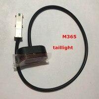 M365 scooter elétrico skate lâmpada de advertência traseira original e não-original luz da cauda feito-à-medida farol led